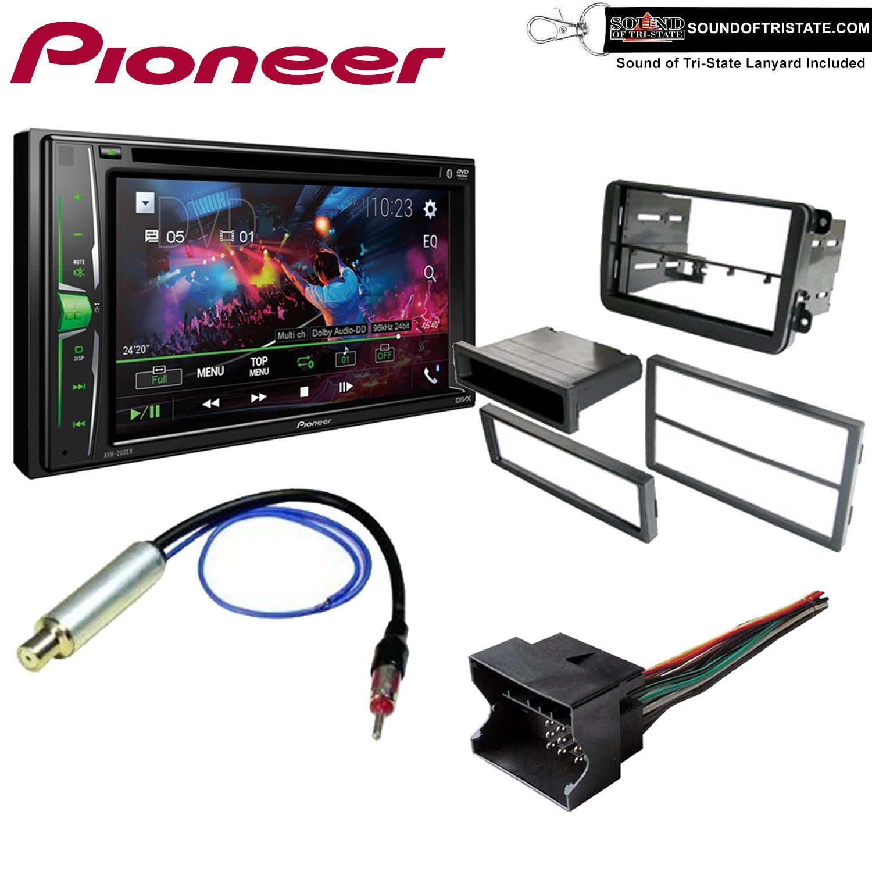 Radio Mounting Stereo Install Trim Installation Single Din Aftermarket Dash Kit