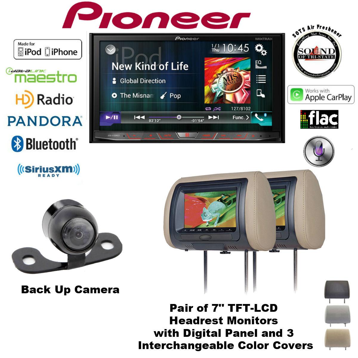 avh4100nex_cls700x2_sv6922mlii_freshner pioneer avh 4100nex flagship multimedia dvd receiver with 7\