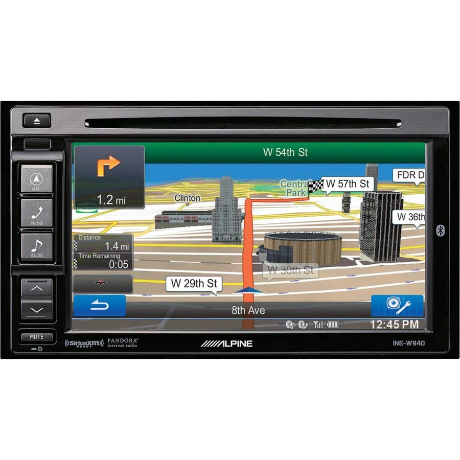 Alpine Ine W940 Navigation Receiver Inew940 2 Din Dvd Nav Wiring Diagram