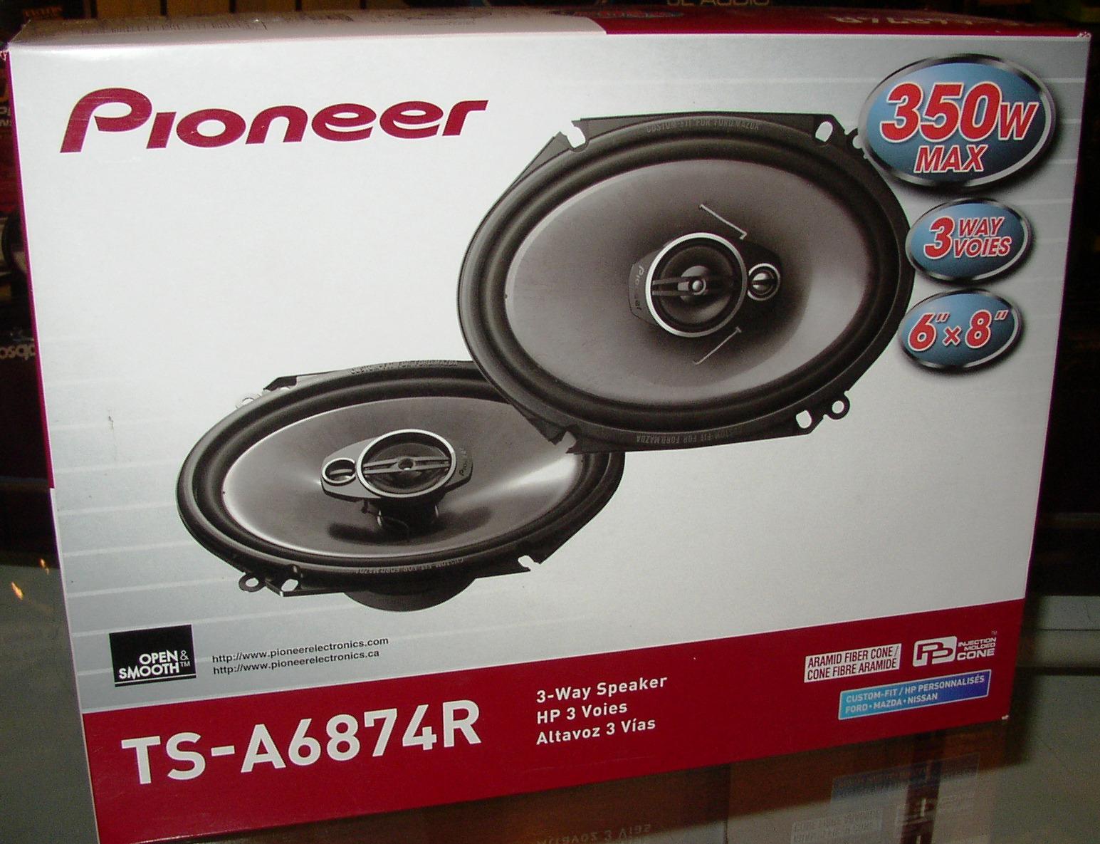 pioneer 6x8 speakers. pioneer 6x8 speakers i