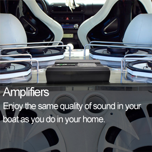 Marine Audio Amplifiers