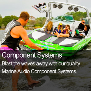 Marine Audio Compontent Systems