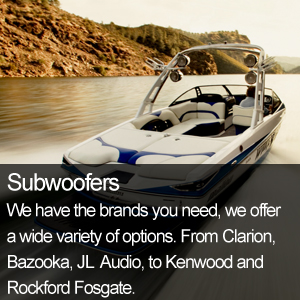 Marine Audio Subwoofers